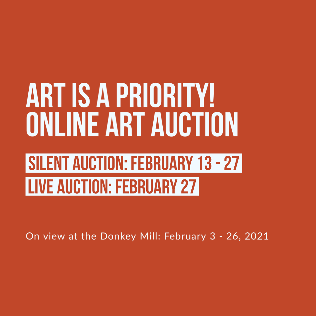 ART IS A PRIORITY!: Annual Art Auction